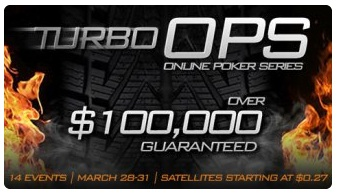Turbo Multi-Table Online Poker Tournament series